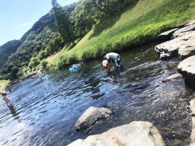 夏の思い出~川遊び~